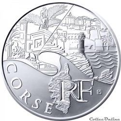 10 euros Corse 2011