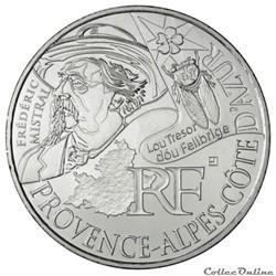 10 euros Provence-Alpes-Cote d'Azur 2012
