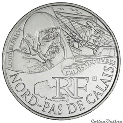 10 euros Nord-Pas de Calais 2012