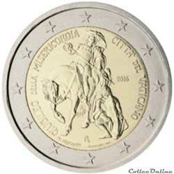 2 euro - Vatican 2016