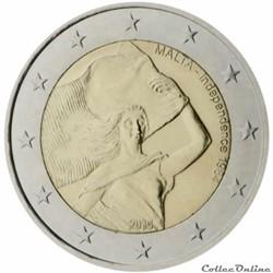 2 euro - Malte 2014