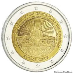2 euro - Chypre 2017