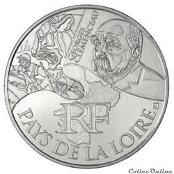 10 euros Pays de la Loire 2012