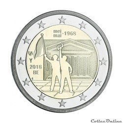 2 euro - Belgique 2018