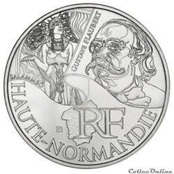 10 euros Haute-Normandie 2012
