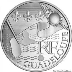 10 euros Guadeloupe 2010