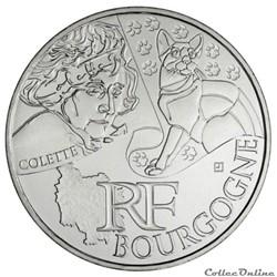 10 euros Bourgogne 2012