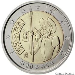2 euro - Espagne 2005