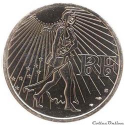 "25 euros ""La Semeuse en marche "" 2009"