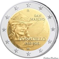 2 euro - Saint-Marin 2016