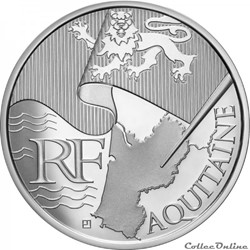 10 euros Aquitaine 2010