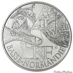 10 euros Basse-Normandie 2012