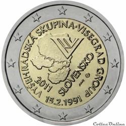2 euro - Slovaquie 2011