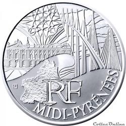 10 euros Midi-Pyrénées 2011