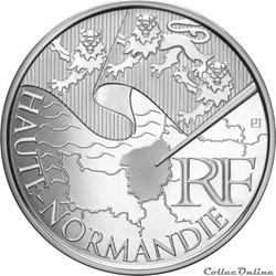 10 euros Haute-Normandie 2010