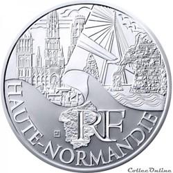 10 euros Haute-Normandie 2011