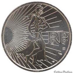 "10 euros ""La Semeuse en marche "" 2009"