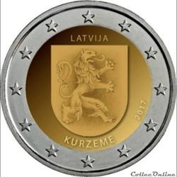 2 euro - Lettonie 2017