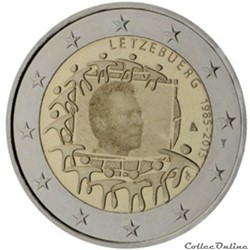 2 euro - Luxembourg 2015