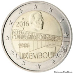 2 euro - Luxembourg 2016