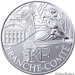 10 euros Franche-Comté 2011