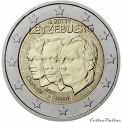 2 euro - Luxembourg 2011