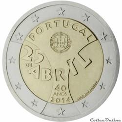 2 euro - Portugal 2014