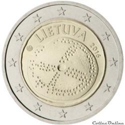 2 euro - Lituanie 2016