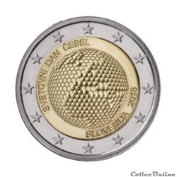 2 euro - Slovénie 2018