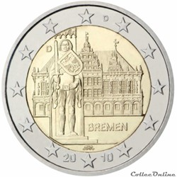 2 euro - Allemagne 2010