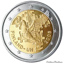 2 euro - Finlande 2005
