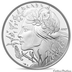 20 euros Marianne-Liberté 2017
