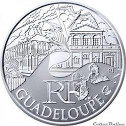10 euros Guadeloupe 2011