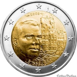 2 euro - Luxembourg 2008