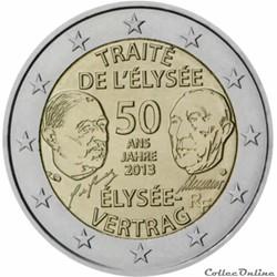 2 euro - France 2013