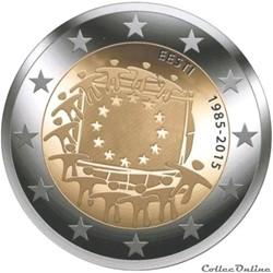 2 euro - Estonie 2015