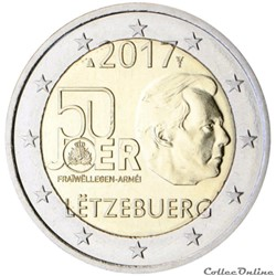 2 euro - Luxembourg 2017