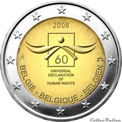 2 euro - Belgique 2008