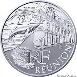 10 euros Réunion 2011
