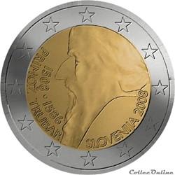 2 euro - Slovénie 2008