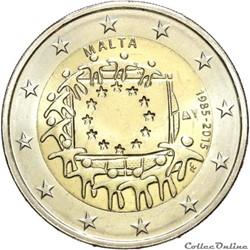 2 euro - Malte 2015