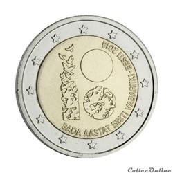 2 euro - Estonie 2018