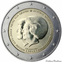 2 euro - Pays-Bas 2013