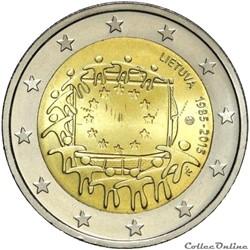 2 euro - Lituanie 2015