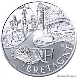 10 euros Bretagne 2011
