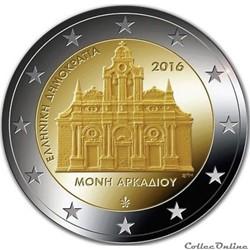 2 euro - Grèce 2016