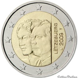 2 euro - Luxembourg 2009