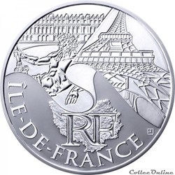 10 euros Ile de France 2011