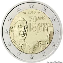2 euro - France 2010