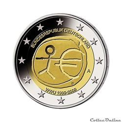 Mes 2 euros commémoratives